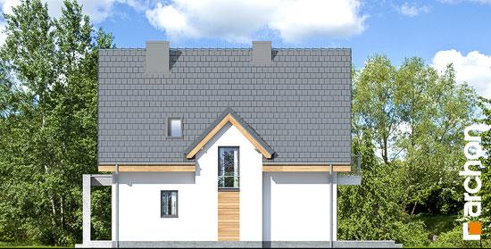 Elewacja boczna projekt dom w miodunkach n  266