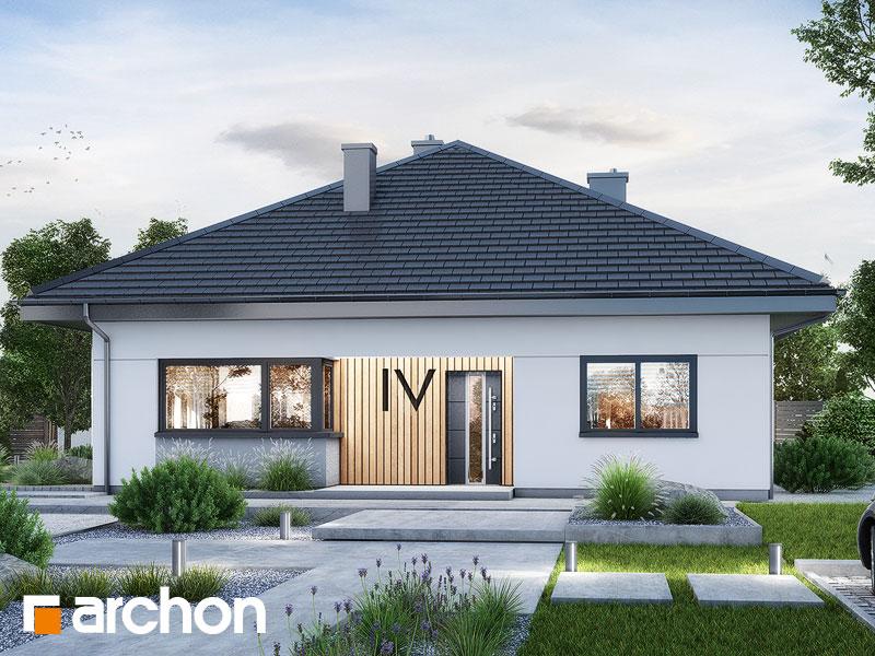 gotowy projekt Dom w cieszyniankach 8 widok 1
