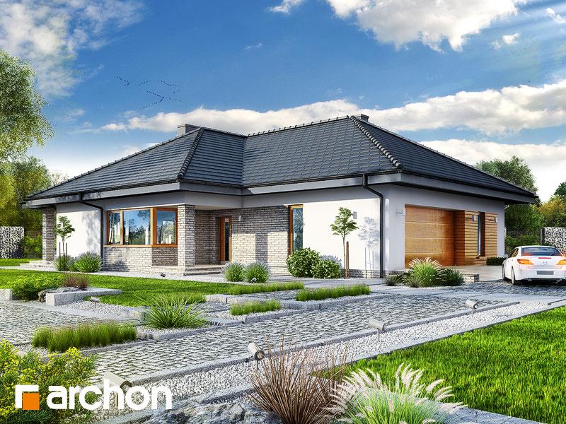 gotowy projekt Dom w lilakach 5 (G2) widok 1