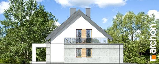 Elewacja boczna projekt dom w arabisach  265