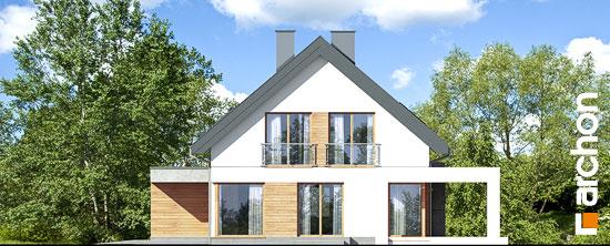 Elewacja boczna projekt dom w arabisach  266