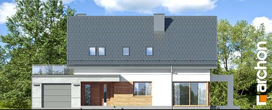Elewacja frontowa projekt dom w arabisach  264
