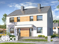 Widok 1 projekt blizniak w jednej dokumentacji dom w riveach b 1575373400  259