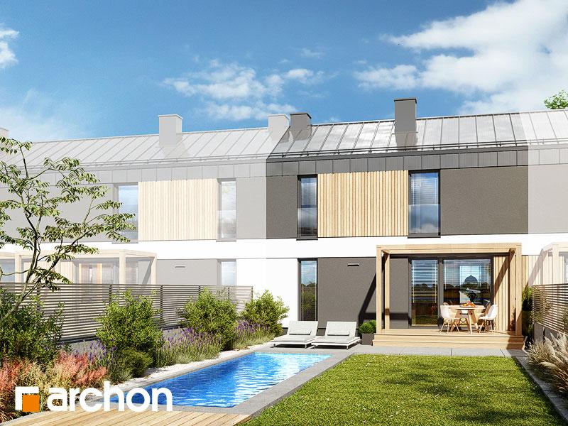 gotowy projekt Dom w everniach (S) widok 1