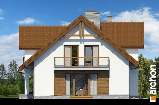 Elewacja boczna projekt dom w asparagusach pn ver 2  265