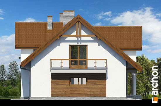 Elewacja boczna projekt dom w asparagusach pn ver 2  266