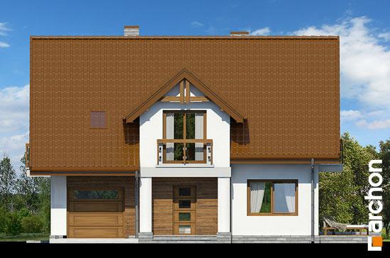Elewacja frontowa projekt dom w asparagusach pn ver 2  264