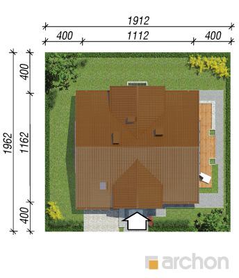 projekt Dom w asparagusach (PN) sytuacja