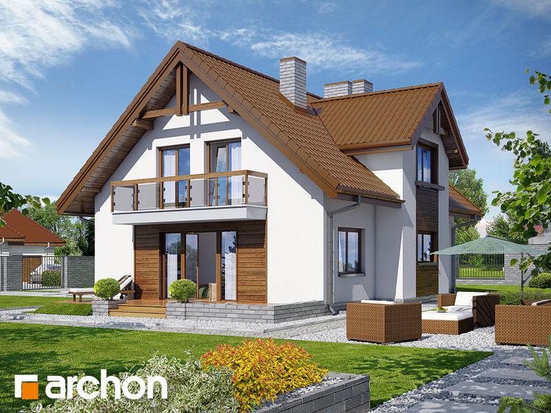 gotowy projekt Dom w asparagusach (PN) widok 1
