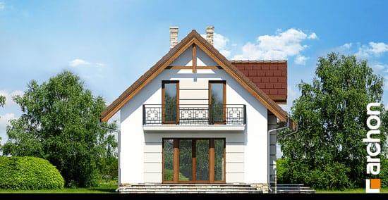 Elewacja boczna projekt dom w lukrecji 4 ver 2  266