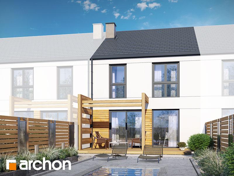 gotowy projekt Dom pod miłorzębem 15 (GS) widok 2