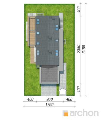 projekt Dom w estragonie 2 (G2P) sytuacja