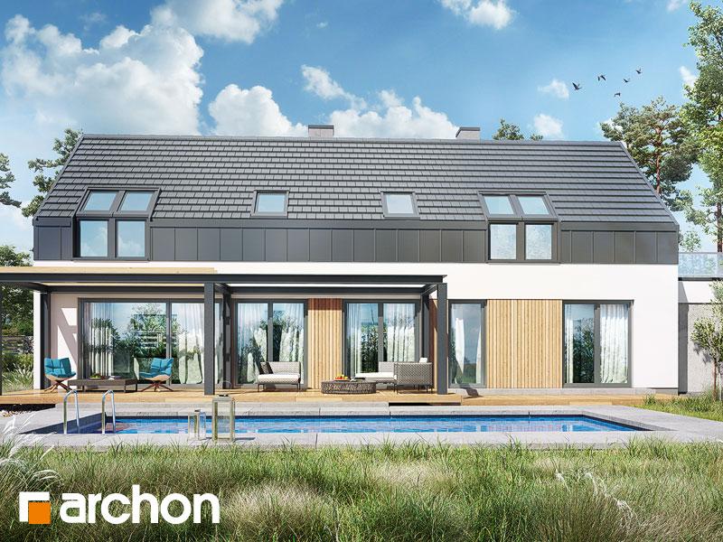 gotowy projekt Dom w estragonie 2 (G2P) widok 1
