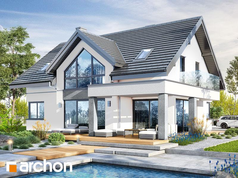 gotowy projekt Dom w telimach (G2) widok 2