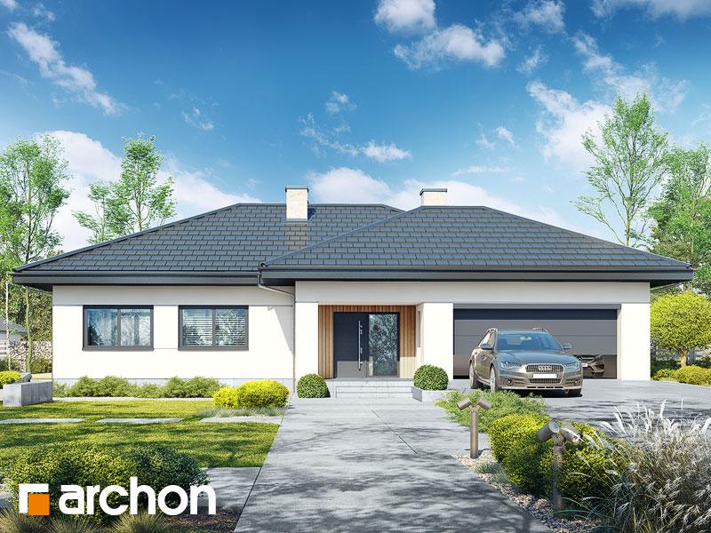 gotowy projekt Dom w jonagoldach 7 (G2) widok 1