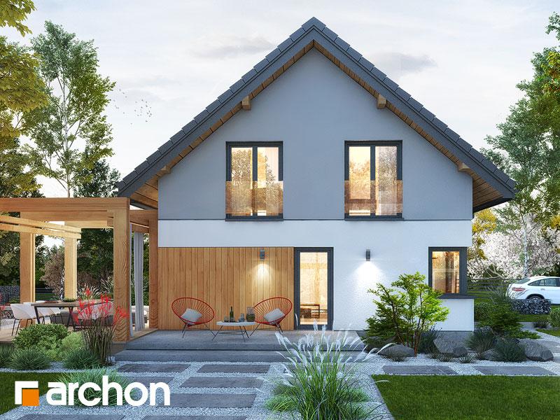 gotowy projekt Dom w silene (G) widok 1