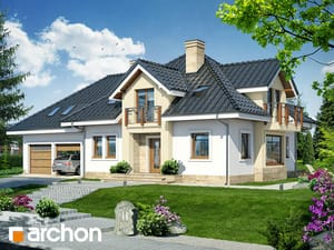 gotowy projekt Dom w hiacyntowcach (G2)