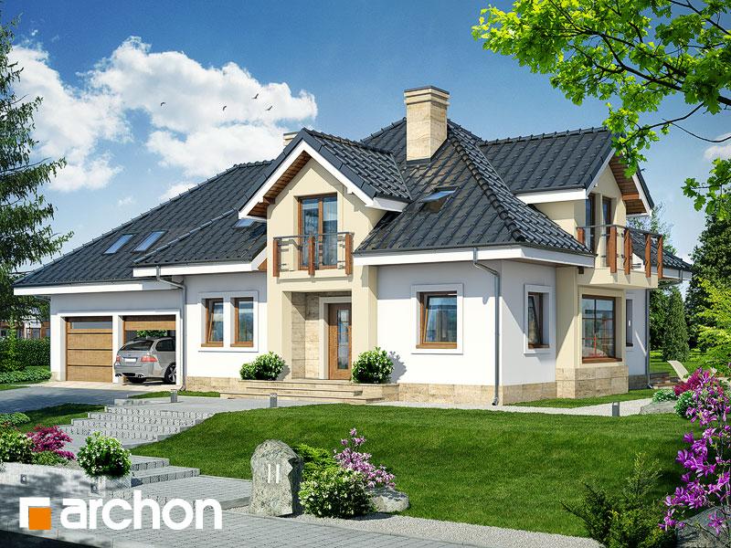 gotowy projekt Dom w hiacyntowcach (G2) widok 1