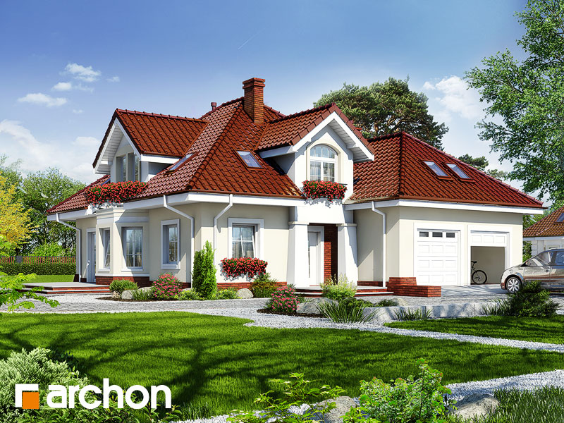 gotowy projekt Dom w firletkach (G2) widok 1