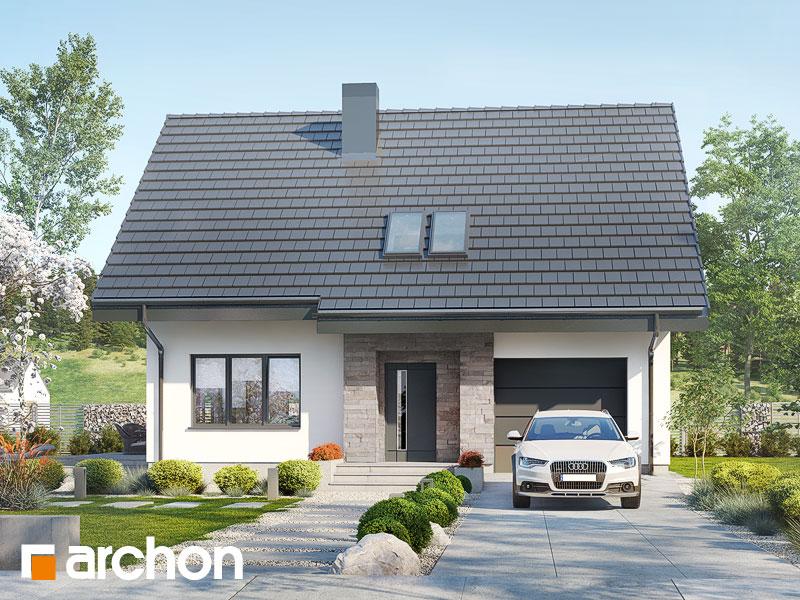 gotowy projekt Dom w lucernie 4 widok 1