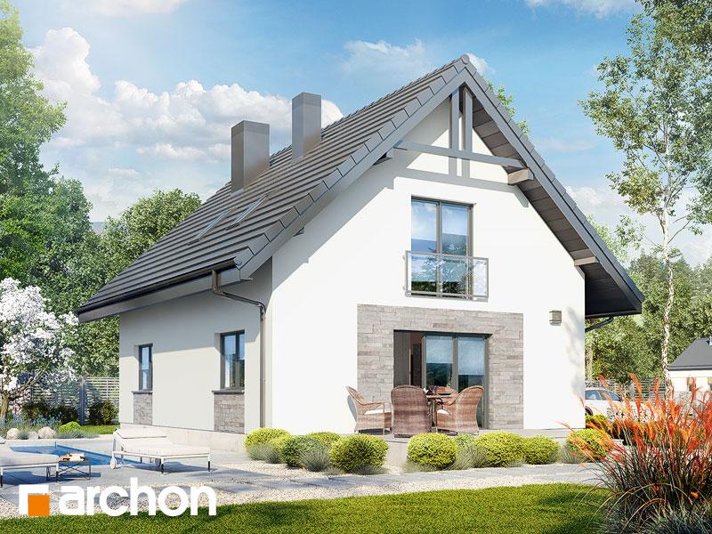 gotowy projekt Dom w lucernie 4 widok 2