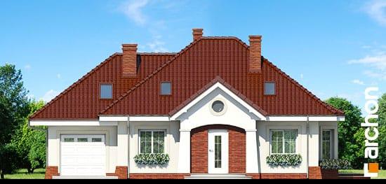 Elewacja frontowa projekt dom w lotosach g ver 2  264