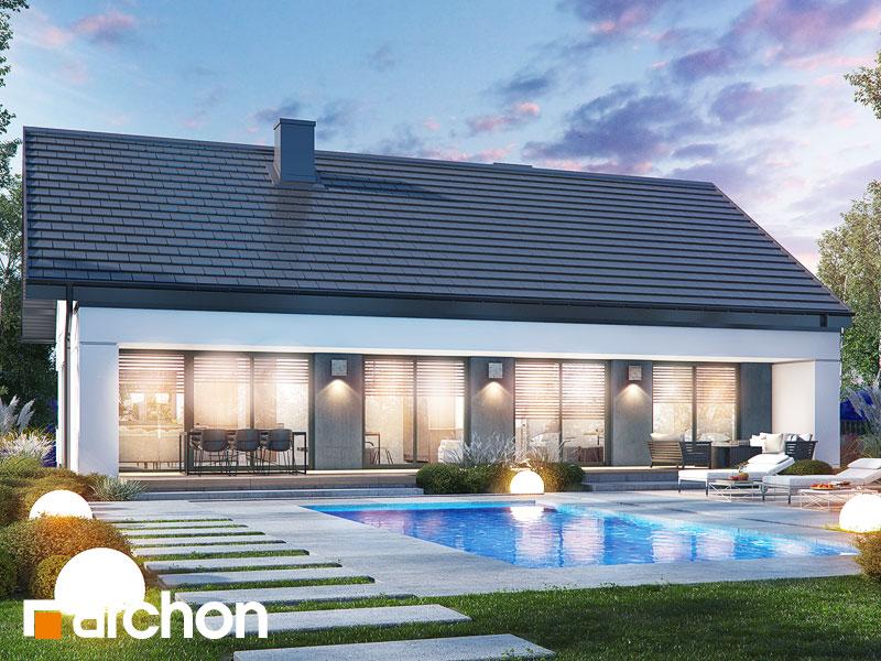 gotowy projekt Dom w lulo 3 (G2) widok 1
