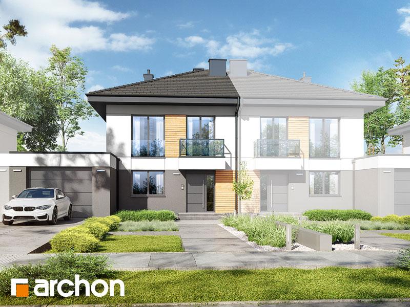 gotowy projekt Dom w tunbergiach 5 (GS) widok 1