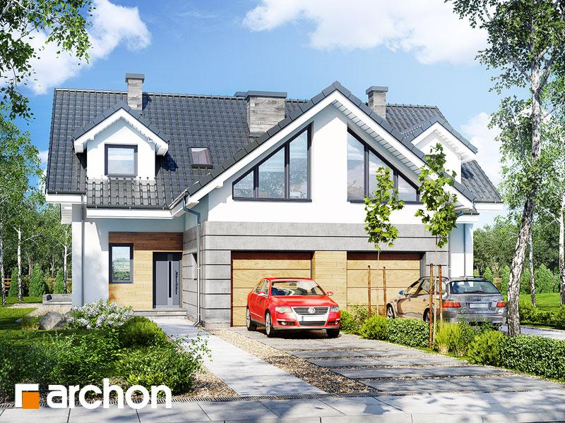 gotowy projekt Dom w klematisach 6 (R2) widok 1