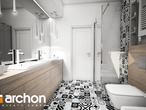 projekt Dom w brunerach Wizualizacja łazienki (wizualizacja 3 widok 3)