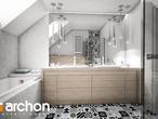 projekt Dom w brunerach Wizualizacja łazienki (wizualizacja 3 widok 2)