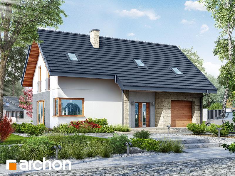 gotowy projekt Dom w brunerach widok 1