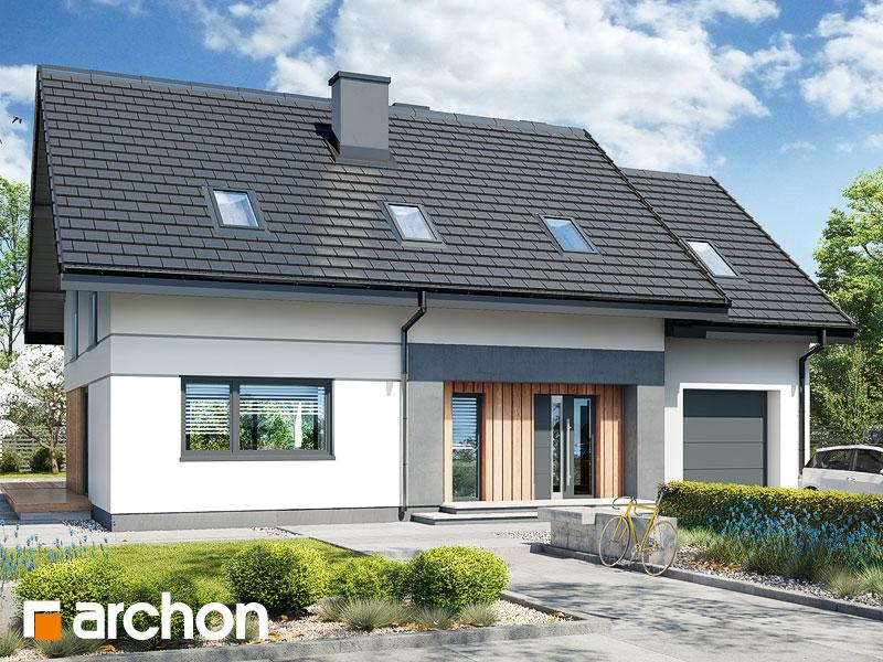 gotowy projekt Dom w szmaragdach 5 (G) widok 1