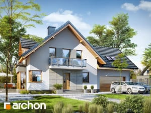 projekt Dom w rododendronach 7 (G2N)
