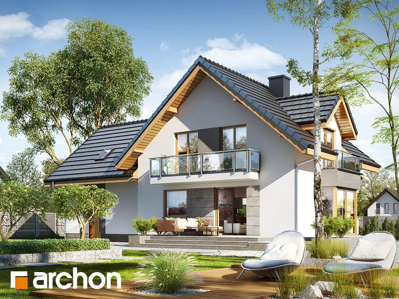 gotowy projekt Dom w rododendronach 7 (G2N) widok 1