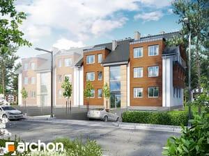 projekt Dom przy promenadzie 3 (B)