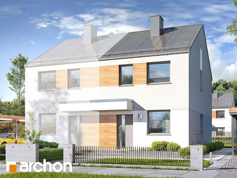 gotowy projekt Dom w riveach (B) widok 1
