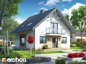 projekt Dom w rododendronach 21 (NT)