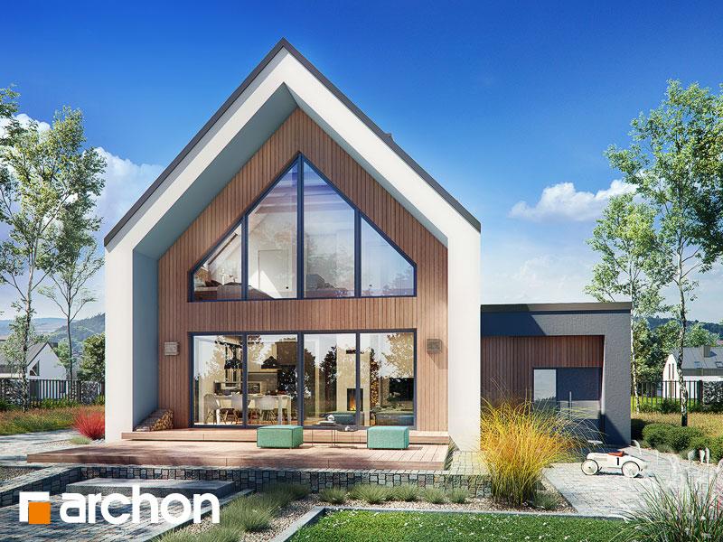 gotowy projekt Dom w papawerach 2 (A) widok 1