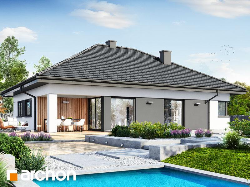 gotowy projekt Dom w renklodach 20 widok 2