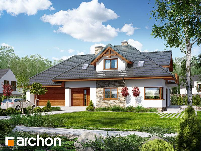 gotowy projekt Dom w kannach (T) widok 1