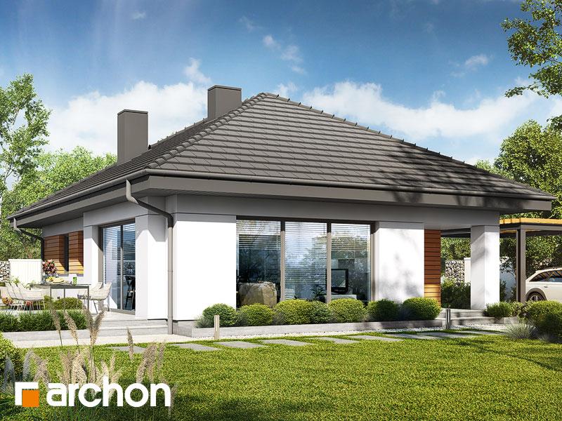 gotowy projekt Dom w lilakach 14 widok 1