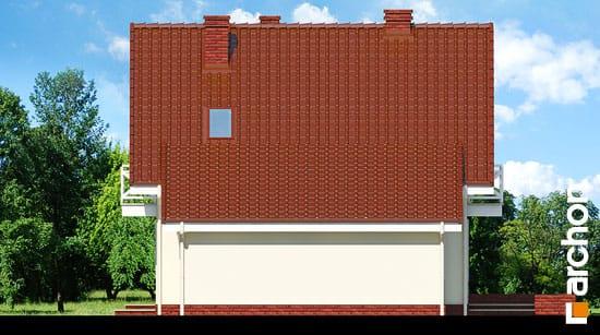 Elewacja boczna projekt dom w rododendronach 4 ver 2  265