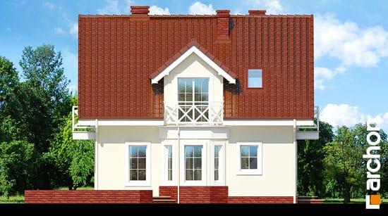 Elewacja boczna projekt dom w rododendronach 4 ver 2  266