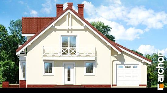 Elewacja frontowa projekt dom w rododendronach 4 ver 2  264