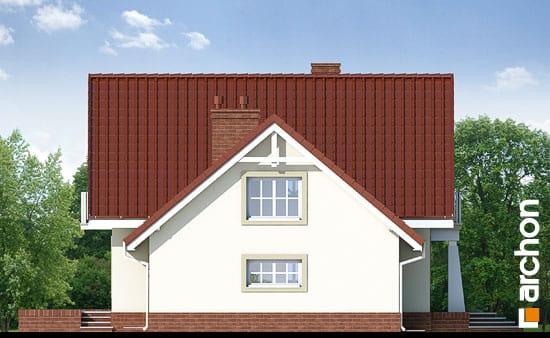 Elewacja boczna projekt dom w morelach ver 2  266