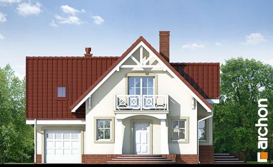 Elewacja frontowa projekt dom w morelach ver 2  264