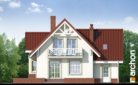 Elewacja ogrodowa projekt dom w morelach ver 2  267
