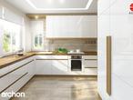 projekt Dom w morelach Aranżacja kuchni 2 widok 1