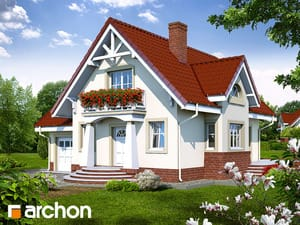 projekt Dom w morelach